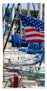 Flying Proud By Diana Sainz Beach Towel