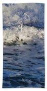 Foamy Brine Beach Towel