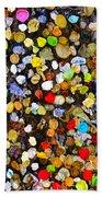 Colorful Gum Beach Towel