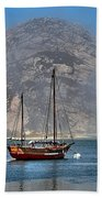 Foggy Morrow Bay Beach Towel