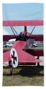 Fokker Dr.i Beach Towel