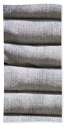 Folded Denim Beach Towel