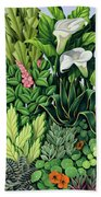 Foliage Beach Towel