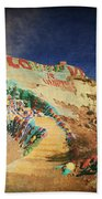 Follow The Yellow Brick Road Beach Towel