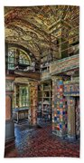 Fonthill Castle Library Room Beach Towel