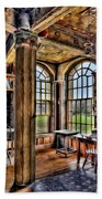 Fonthill Castle Office Beach Towel by Susan Candelario