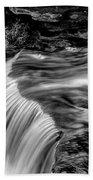 Foot High Falls Beach Towel