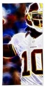 Football - Rg3 - Robert Griffin IIi Beach Towel