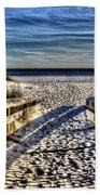 Footprint's In The Sand Beach Towel