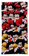 For The Mickey Mouse Lovers Beach Towel