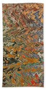 Forces Of Nature - Abstract Art Beach Towel