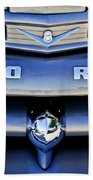 Ford F-1 V8 Truck Front End Beach Towel