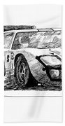 Ford Gt - 40 Beach Towel