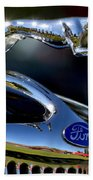 Ford Hood Ornement Beach Towel
