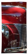 Ford Hotrod Beach Towel