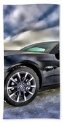 Ford Mustang - Featured In Vehicle Eenthusiast Group Beach Towel