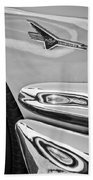 Ford Thunderbird Emblem -0505bw Beach Towel