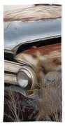 Ford Truck Old F350 Beach Towel