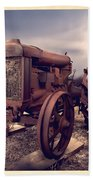 Fordson F Tractor Beach Towel