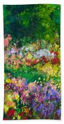Forest Garden Beach Towel