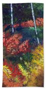 Forest Glade Beach Towel