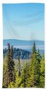 Forest Landscape Beach Towel