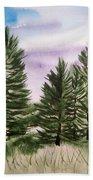 Forest's Edge Beach Towel