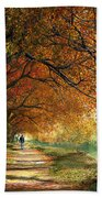 Forever Autumn Beach Towel