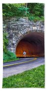 Fork Mountain Tunnel Beach Towel