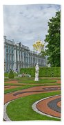 Formal Garden In Front Of The Palace Beach Towel
