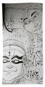 Cochin Graffiti Beach Towel