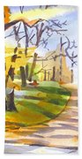 Fort Hill In Arcadia Beach Towel
