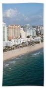 Fort Lauderdale Beach Beach Towel
