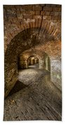 Fort Macomb Arches Vertical Beach Towel by David Morefield