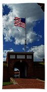Fort Mchenry Main Gate Beach Towel