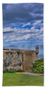 Fort San Felipe Del Morro  Beach Towel
