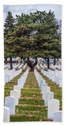 Fort Snelling National Cemetery Beach Towel