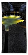 Fort Worth Water Garden Water Fall Beach Towel