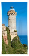 Forte Stella Lighthouse - Portoferraio - Elba Island Beach Towel