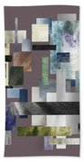 Forty Nine Shades Of Gray II Beach Towel
