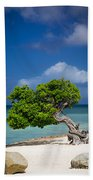Fototi Tree - Aruba Beach Towel