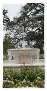 Fountain At Nottoway Beach Towel