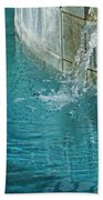 Fountain St Francisville Inn Louisiana Beach Towel
