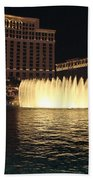 Fountain Vegas Beach Towel