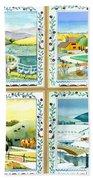 Four Seasons Beach Towel