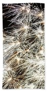 Fourth Of July Fireworks Beach Towel by Kim Bemis