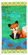 Fox-c Beach Towel