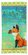 Fox-d Beach Towel