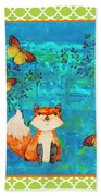 Fox-e Beach Towel