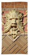 Fox Gargoyle 01 Beach Towel